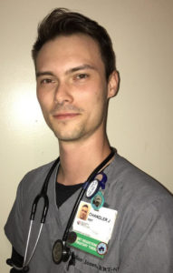 Respiratory Therapist Chandler Jones