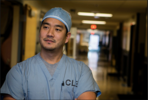 Surgeon Shawn Tsuda